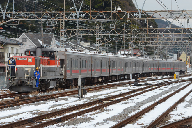 【東急】1000系1503F+中間車9両甲種輸送