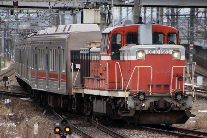 【東急】1000系6両甲種輸送(2月13日)