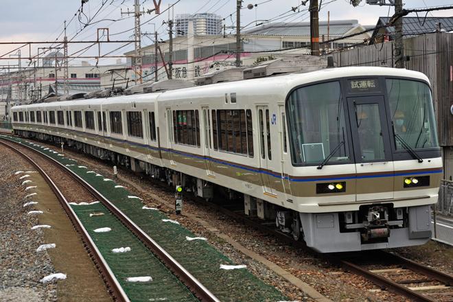 【JR西】221系NC602編成体質改善工事施工