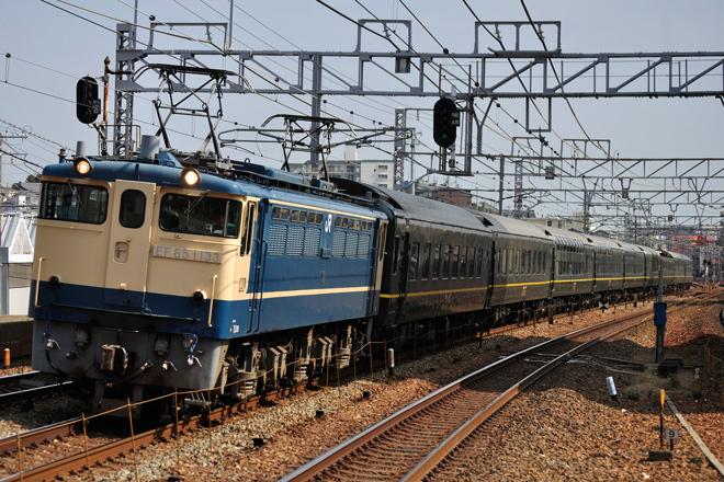 【JR西】トワイライトエクスプレス第3編成網干総合車両所入場
