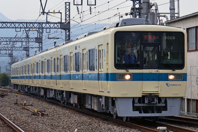 【小田急】8000形8059Fリニューアル終え試運転