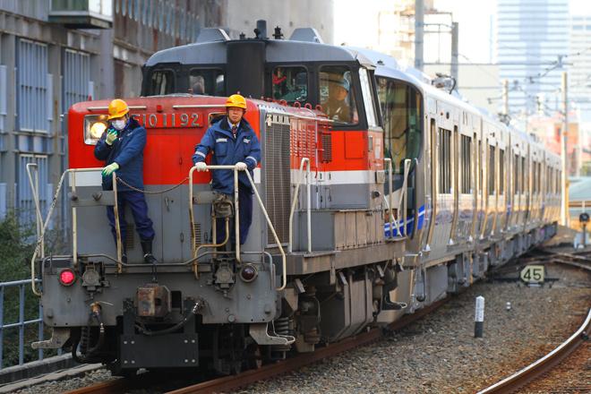【JR西】521系J17/J18/J19編成甲種輸送及び試運転