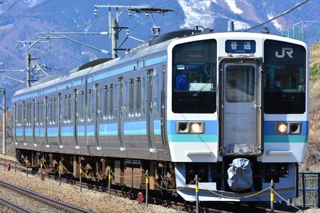 【JR東】211系長野車運用範囲拡大
