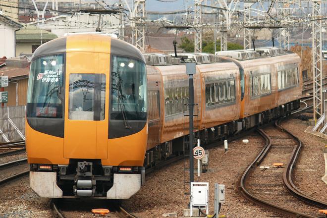【近鉄】阪神線直通22600系使用団臨運転