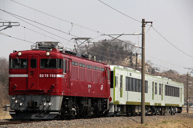 【JR東】キハ111+キハ112 郡山総合車両センター出場配給