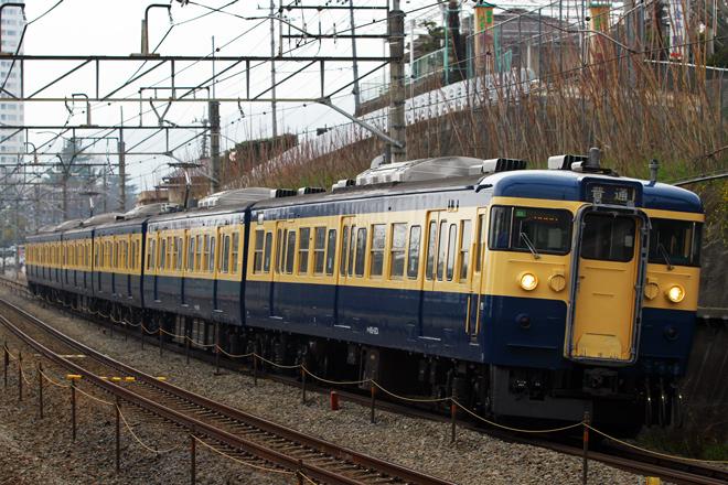 【JR東】115系C1編成(スカ色)が定期運用復帰