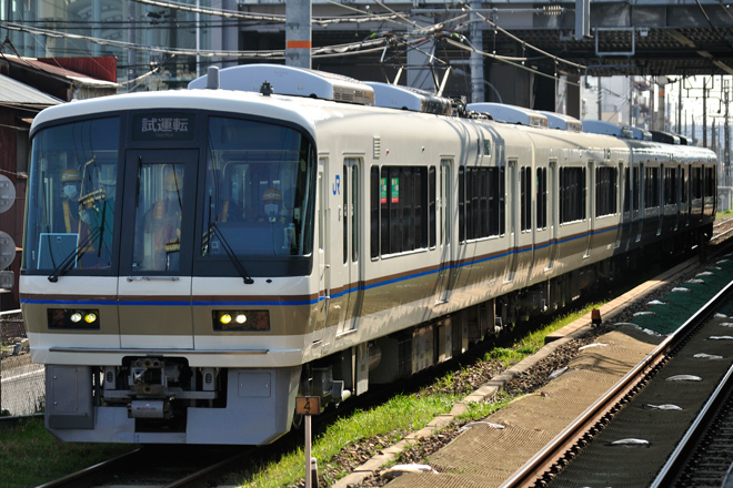 【JR西】221系NA409編成に体質改善工事施行