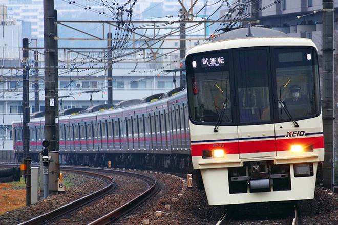 【京王】8000系8703F10両固定編成化改造出場試運転
