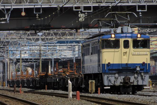 【JR東】EF65-1115牽引新津工臨返空運転