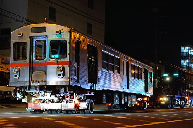 【東急】7700系 7908F(2両) 陸送