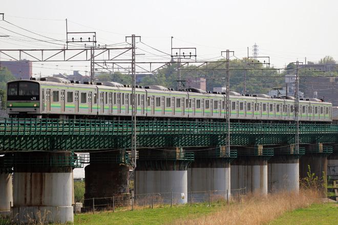 【JR東】205系クラH23編成 京葉車両センターへ疎開