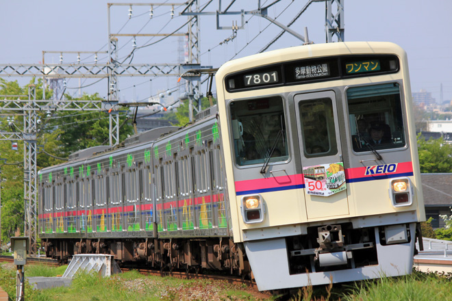 【京王】動物園線開通50周年記念HM