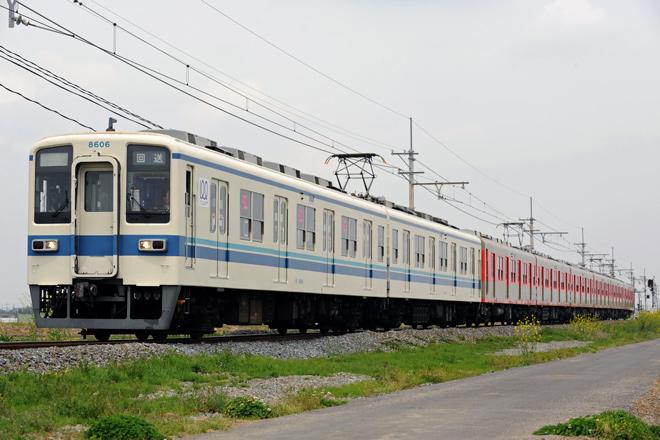 【東武】東武8000系8111F東上線へ回送