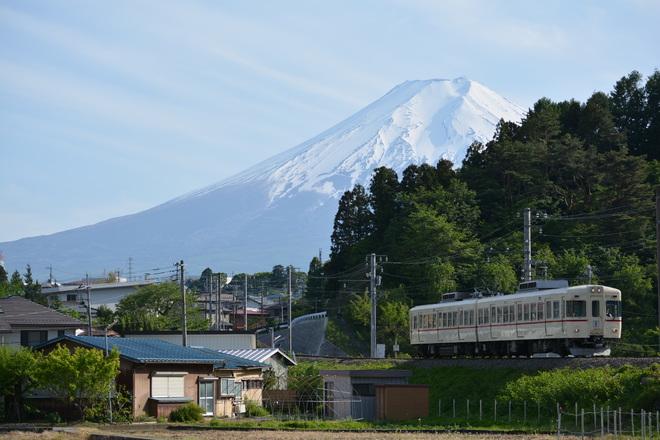 【富士急】1000形1001編成による団体専用列車運転