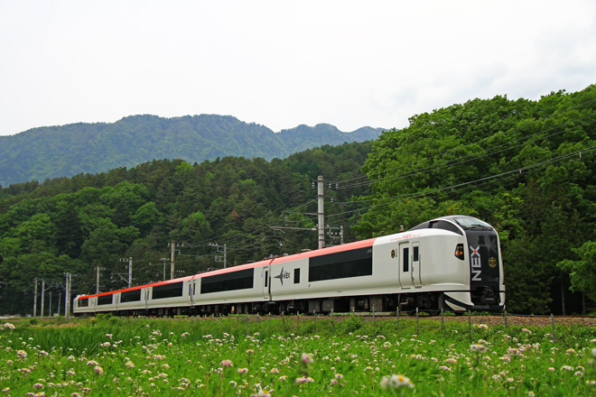 【富士急】E259系が富士急線内で試運転