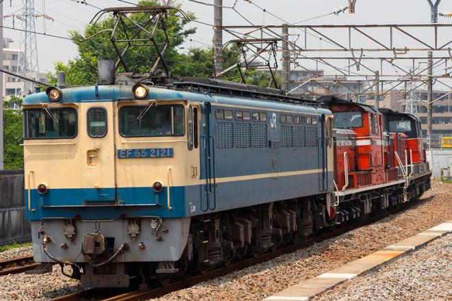 【JR貨物】DD51-1802、1805方転回送