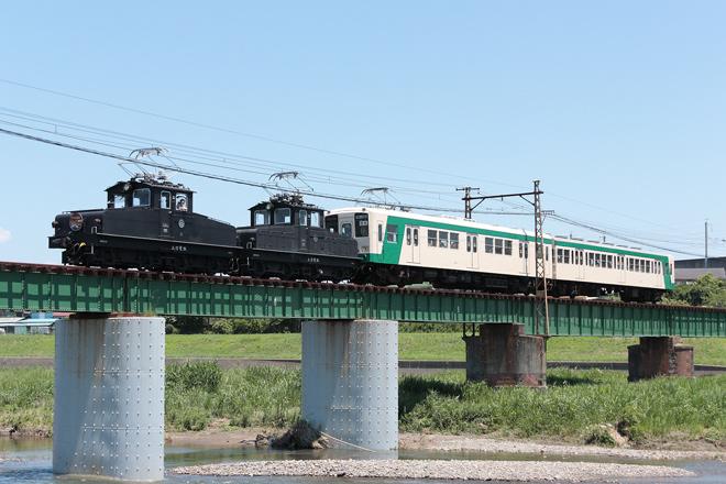 【上信】デキ運行開始90周年記念臨時列車運転