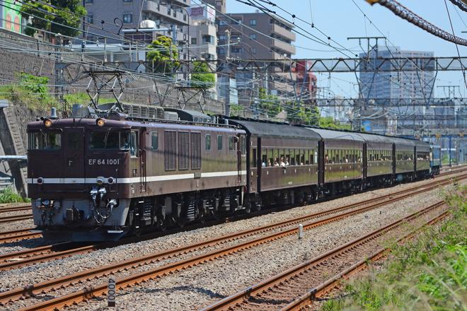 【JR東】EF64-1001/EF65-501牽引YYフェスタ号