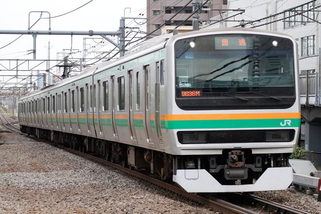 【JR東】E231系U118編成が国府津から返却回送される