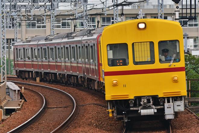 【京急】デト11+新1000形1489編成の回送を運転