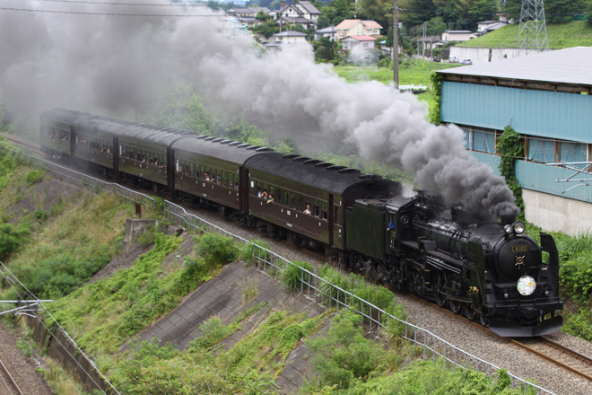 【JR東】「SL福島プレDC号」運転