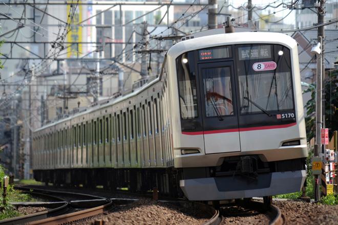 【東急】5050系5170編成使用の試運転