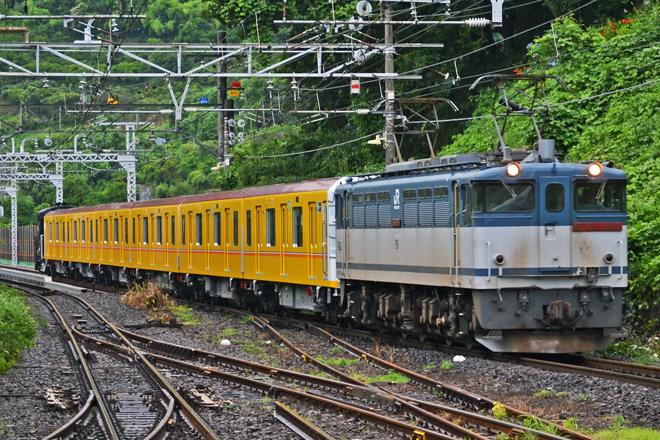 【メトロ】1000系1116F 甲種輸送