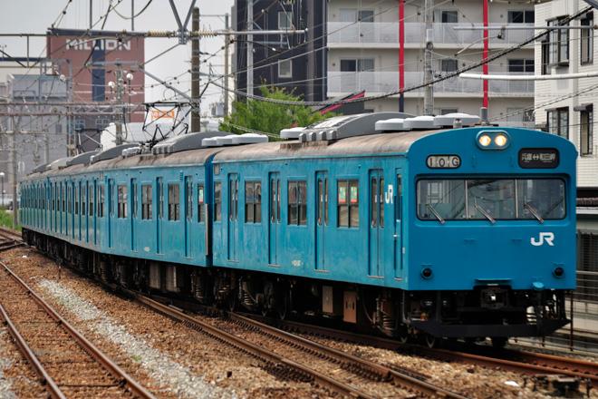【JR西】103系R1編成 網干総合車両所本所出場