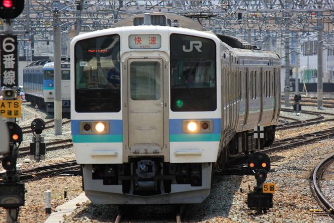 【JR東】篠ノ井線臨時快速列車