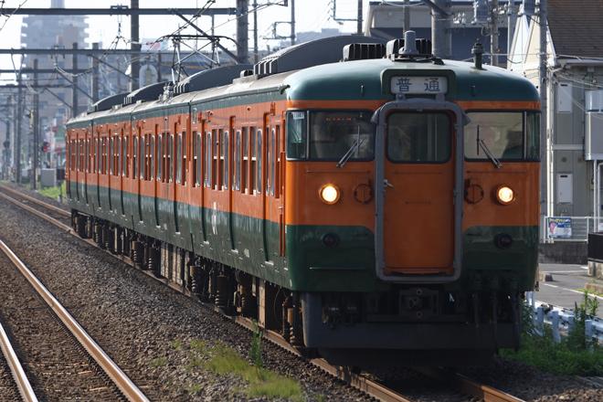 【JR東】115系T1147編成使用 団体臨時列車運転