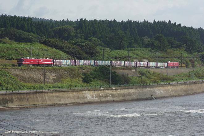 【JR貨】EH800形25000V試験列車
