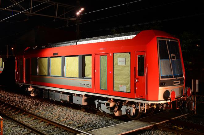 【箱根】3000形3002号小田急・箱根登山線内回送