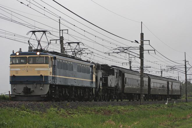 【JR東】SL陸羽西線100周年号送り込み回送