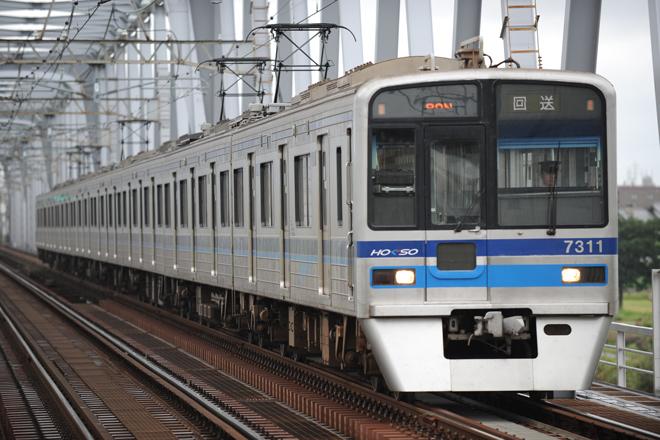 【北総】7300形7318編成宗吾車両基地へ回送
