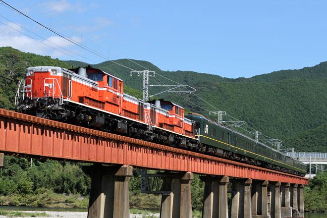 【JR西】「トワイライトエクスプレスで行く紀勢線ランチクルーズ」運転