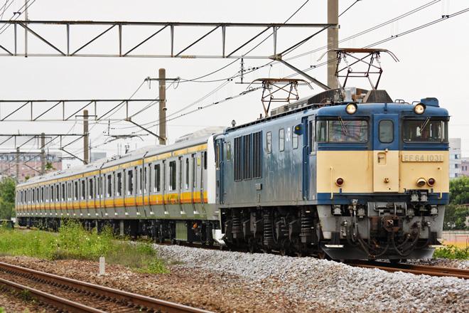 【JR東】南武線用E233系8000番台ナハN5編成 配給輸送