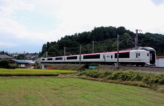 【JR東】成田エクスプレス 富士急行入線