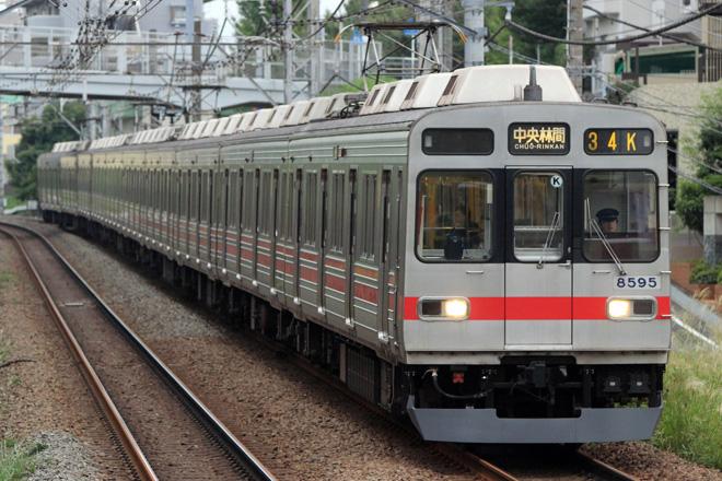 【東急】8590系8695F スカート取り付け
