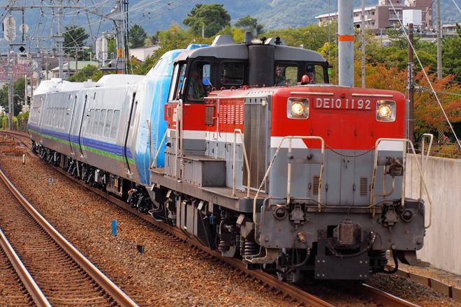 【JR北】キハ285系 甲種輸送
