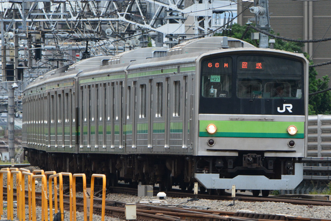 【JR東】205系クラH27編成尾久疎開返却回送