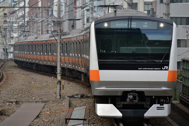 【JR東】E233系T14編成東京総合車両センター入場