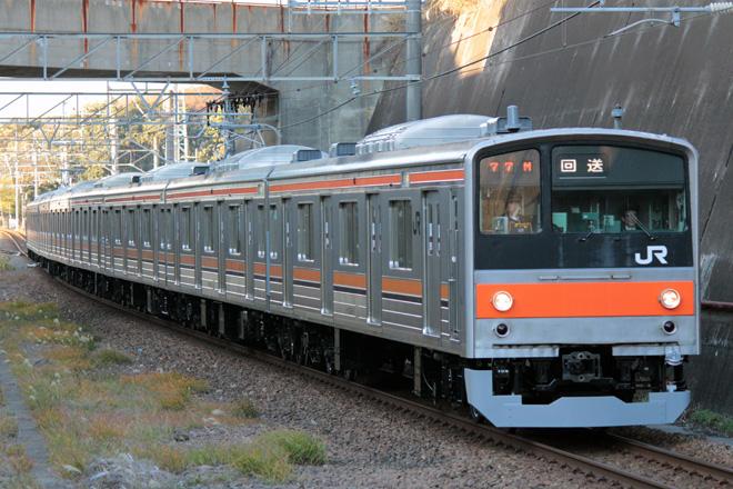2nd-train Topics 【JR東】205系5000番台ケヨM8編成OM出場