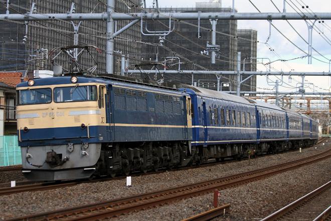 【JR東】EF65-501+24系 特急富士で行く伊豆の旅 試運転