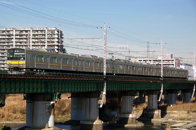 【JR東】205系ナハ5編成 大宮総合車両センター入場