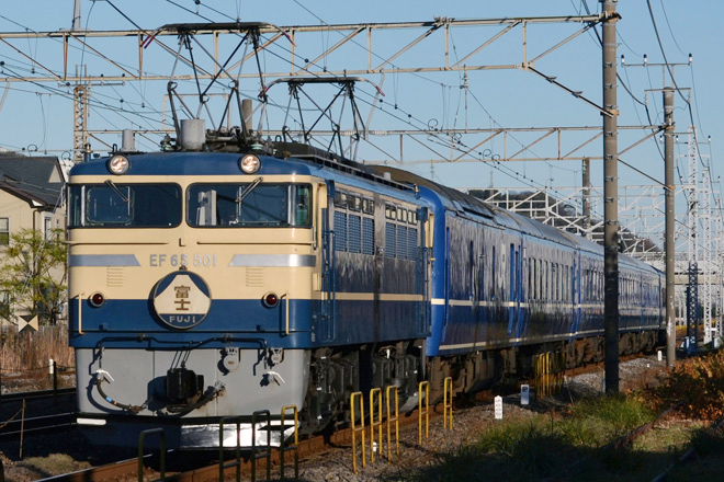 【JR東】EF65-501+24系 特急富士で行く伊豆の旅 運転