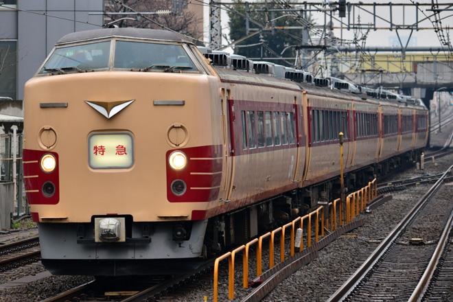 【JR東】183系N104編成使用特急「あずさ81号」運転