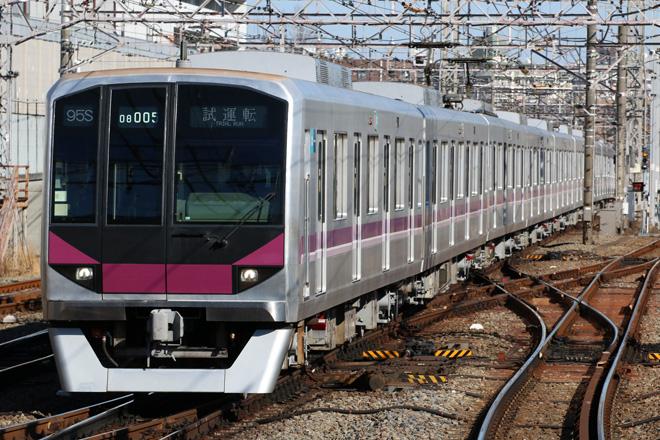 【メトロ】08系08-105F出場試運転