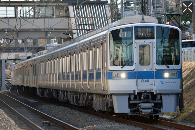 【小田急】1000形1066F・3000形3263F営業運転復帰
