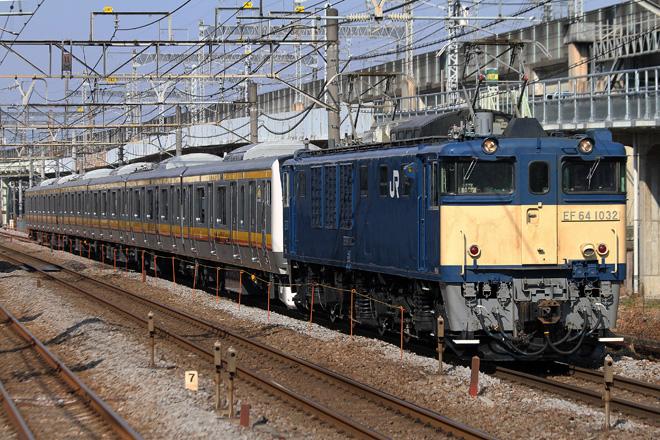 【JR東】南武線E233系N13編成配給輸送