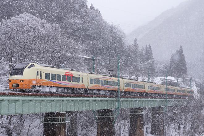 【JR東】E653系1000番台送り込み回送運転